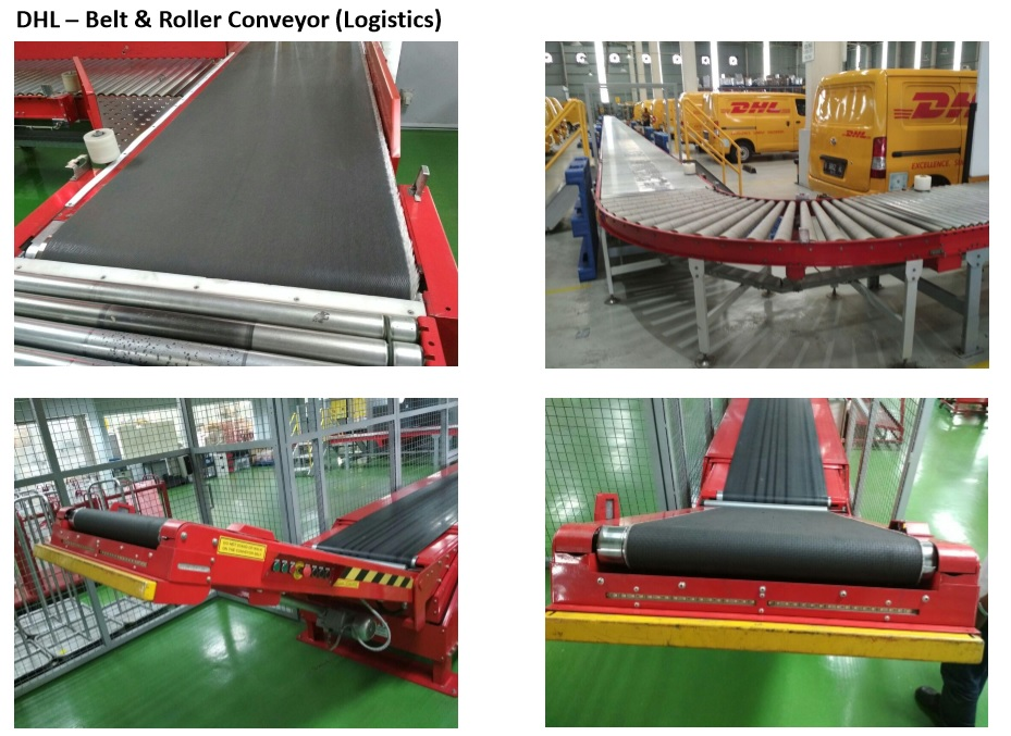 DHL – Belt & Roller Conveyor (Logistics)