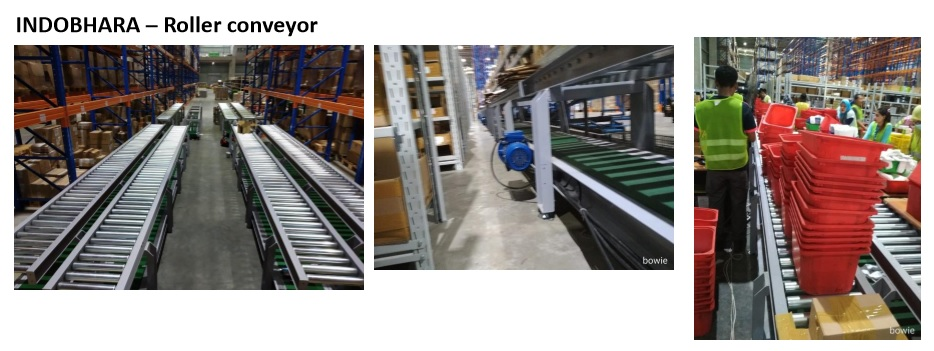 INDOBHARA – Roller conveyor