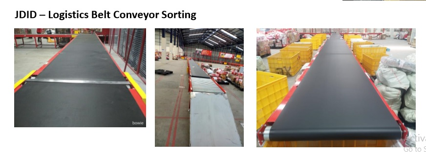 JDID – Logistics Belt Conveyor Sorting