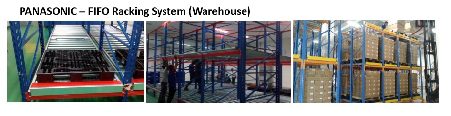 PANASONIC – FIFO Racking System (Warehouse)
