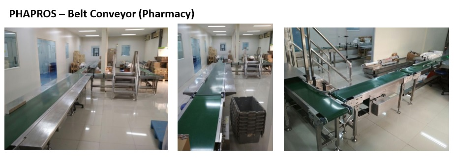 PHAPROS – Belt Conveyor (Pharmacy)