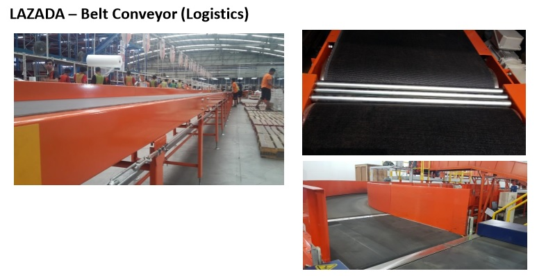 LAZADA – Belt Conveyor (Logistics)